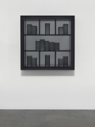 JOSIAH MCELHENY, Grey Prism Painting III
