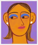 GRACE WEAVER portrait of a girl with cobalt eyeshadow (1)