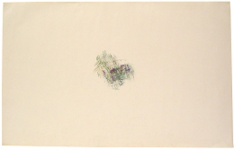 , ALAN SARET Prism Pines, 1970 Color pencil on paper 24 x 38 inches