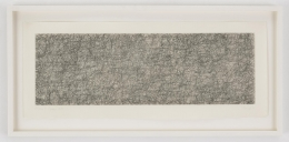 , JOHN CAGER3 (Where R = Ryoanji),1983Drypoint, Set of 2Each: 9 1/4 x 23 1/4 in. (23.5 x 59 cm)Edition of 25