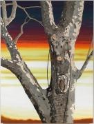 , ALISON ELIZABETH TAYLOR Van Cortlandt, 2013 Wood veneer, shellac and oil on panel 55 1/2 x 42 in. (141 x 106.7 cm)