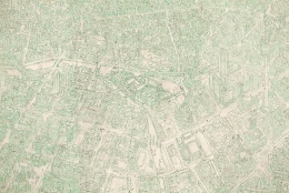 SIMON EVANS Green City (detail)