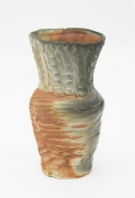 , King Carrot Head, 1984, Salt glazed porcelain, 8 x 4 5/8 x 4 1/2 in.