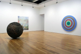 Various Artists. Summer Show. Installation view. NW Corner, Main Gallery. James Cohan Gallery, New York.