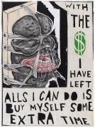 TRENTON DOYLE HANCOCKWith The Money I Have Left2012 Acrylic and mixed media on canvas 12 x 16 in.