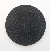 , MICHELLE GRABNER Untitled, 2014 Flashe on canvas on panel Diameter: 48 in. (121.92 cm)