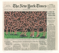 , FRED TOMASELLI Aug. 29, 2013, 2014 Screenprint on archival inkjet print 12 x 10 3/4 in. (30.5 x 27.3 cm) Ed. of 108