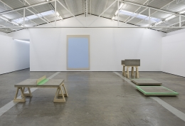 Installation view,Letras y Volúmenes,Proyectos Monclova, Mexico City, 2014
