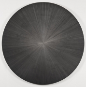 , MICHELLE GRABNER Untitled, 2013 Silverpoint and gesso on panel Diameter: 36 in. (91.4 cm)