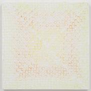 , MICHELLE GRABNERUntitled, 2014Enamel on panel18 x 18 x 3/4 in. (45.7 x 45.7 x 1.9 cm)