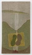 , ELIAS SIMEAnts & Ceramicists 8, 2009-14 Yarn stitch and found object on canvas 60 3/4 x 33 1/2 x 2 in. (154 x 85 x 5 cm)