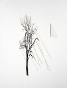 ROXY PAINE Study for Facade / Billboard, 2009