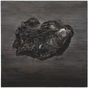 """SHI ZHIYING 石至莹Dong Ujimqin Qi Stone Iron Mesosiderite 东乌旗中é""""é™¨çŸ³, 2013 Oil on canvas 39 1/8 x 39 1/8 in. (100 x 100 cm)"""