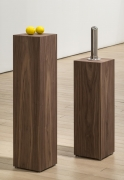 , MARGARET LEE Lemons + (it is what you think), 2015 Alabaster, stainless steel, walnut verneer Dimensions variable Courtesy Jack Hanley Gallery