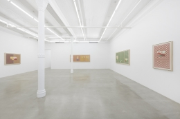 Installation view, Jordan Nassar: I Cut The Sky In Two,291 Grand St, October 23 - November 21, 2020