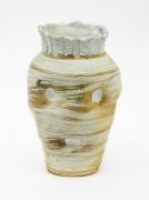 , Pale King Carrot, 1984, Salt glazed porcelain, 8 1/2 x 5 1/4 x 5 1/4 in.