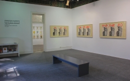 , FRANCESCO CLEMENTEThe Chinese Shadows, 2014 Installation view