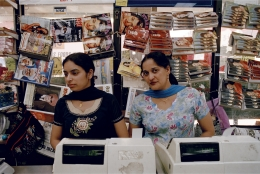 GAURI GILL, lndian grocery store in Queens, New York 2004, from the series The Americans
