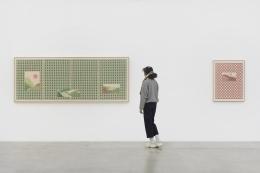 Installation view, Jordan Nassar:I Cut The Sky In Two,291 Grand St, October 23 - November 21, 2020