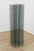 , ALAN SARETEvergreen Air,2014Vinyl coated wire90 x 29 x 29 in. (228.6 x 73.7 x 73.7 cm)