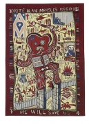 GRAYSON PERRY Vote Alan Measles for God, 2008