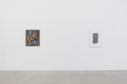 Installation view, Scott Olson at James Cohan, 291 Grand Street, June 20 - July 26, 2019