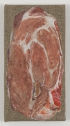 , HELENE APPEL Kamm, 2014 Encaustic and oil on linen 7 13/16 x 4 1/8 in. (20 x 10.5 cm)