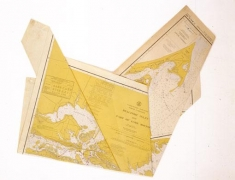 Untitled [folded map of Beaufort Islet], n.d.