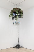 , NAM JUNE PAIK Videochandelier X, 1990 Mixed media 51 1/8 x 47 1/4 in. (130 x 120 cm)