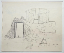 Untitled (Outdoor Structure), 1969