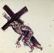 Christ Series: Christ Carrying the Cross, 1960