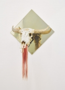 THE PROPELLER GROUP, Untitled [Ox Head; The Living Need Light, The Dead Need Music]