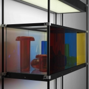 JOSIAH McELHENY, Chromatic Modernism (Red, Blue, Yellow)