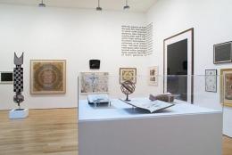 Various Artists. Cosmologies. Installation view. NE Corner, Main Gallery. James Cohan Gallery, New York. Photo: Jason Mandella