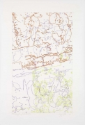 INGRID CALAME英格丽•卡兰 #292 Drawing (Tracings from Buffalo, NY) 绘画292号(从纽约水牛城得到描图),2008
