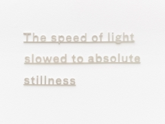 KATIE PATERSON Ideas (The speed of light slowed to absolute stillness)