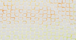, MICHELLE GRABNERUntitled(detail), 2014Enamel on panel18 x 18 x 3/4 in. (45.7 x 45.7 x 1.9 cm)