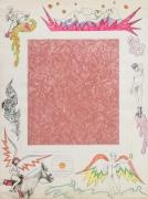 ROBERT SMITHSON Untitled [Pink linoleum center]