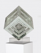MONIR SHAHROUDY FARMANFARMAIAN, Geometric Cube Statue, 2008