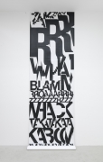 , KRIWETComic Strip,1970Silkscreen print on PVC231 7/8 x 39 5/16 in. (589 x 100 cm)