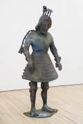, FOLKERT DE JONG From Stately Throne, 2014 Patinated bronze 82 5/8 x 35 3/8 x 33 7/16 in.