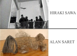 Hiraki Sawa and Alan Saret