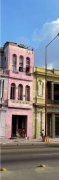 The Pink Building, Havana, 1998, C-print, 96 x 37 1/2 inches