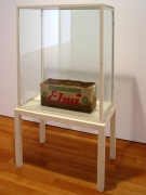 JOSEPH BEUYS, Electric Power Aggregate, 1968, Fat, cardboard, pencil, 9 3/4 x 20 x 8 3/4 inches