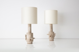 Carlos Otero, Lamp, Lighting, Ceramics, Hostler Burrows, Art, Design