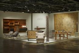 Hostler Burrows, Installation View, Booth G13, Design Miami / Basel, 2014