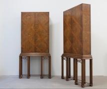 Carl Bergsten(Swedish 1879-1935), A Pair of Cabinets, Nordiska Kompaniet, Sweden, 1924