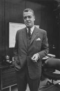 Robert Surdam, president of the National Bank of Detroit, Detroit, 1968