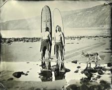(08.02.08) #2 Wayne + Braden, 2008, unique tintype,