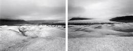 Diane Cook, Jesperson Glacier, Greenland, 2001, gelatin silver prints